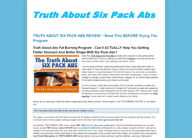 Truthaboutsixpackabsebook.blogspot.com thumbnail