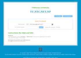 Tu.ntc.net.np thumbnail