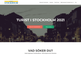 Turiststockholm.se thumbnail