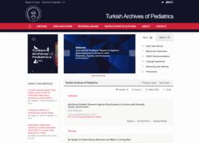 Turkarchpediatr.org thumbnail