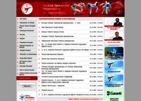 Turkiyetaekwondofed.gov.tr thumbnail