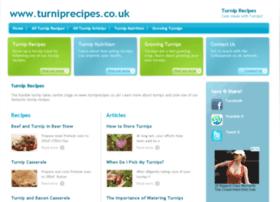 Turniprecipes.co.uk thumbnail