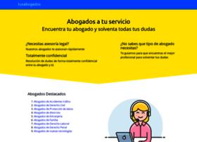 Tusabogados.info thumbnail