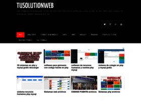 Tusolutionweb.org thumbnail