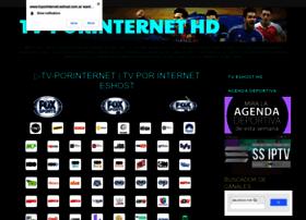 Tvporinternet.eshost.com.ar thumbnail