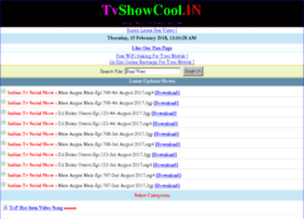 Tvshowcool.in thumbnail