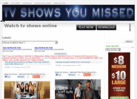 Tvshowsumissed.com thumbnail