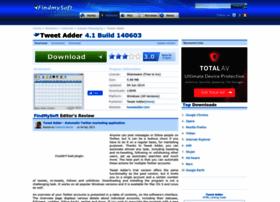 Tweet-adder.findmysoft.com thumbnail