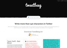 Tweetbeeg.com thumbnail