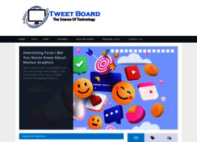 Tweetboard.me thumbnail