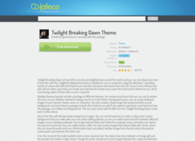 Twilight-breaking-dawn-theme.jaleco.com thumbnail