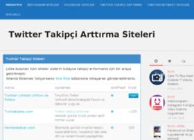 Twittertakipcisiteleri.info thumbnail