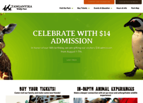 Twpark Com At Wi Tanganyika Wildlife Park Interactive