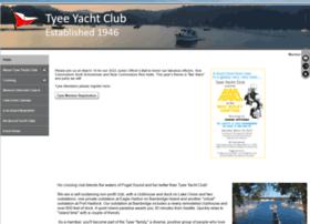 Tyeeyachtclub.org thumbnail