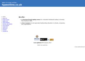 Typeonline.co.uk thumbnail