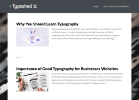 Typeshed11.co.nz thumbnail