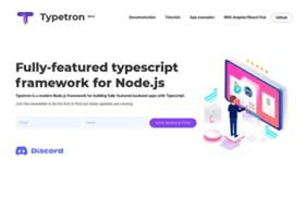 Typetron.org thumbnail