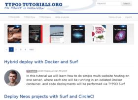 Typo3-tutorials.org thumbnail