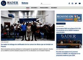 Uader.edu.ar thumbnail
