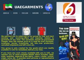 Uaegarments.net thumbnail