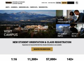 Uccs.edu thumbnail