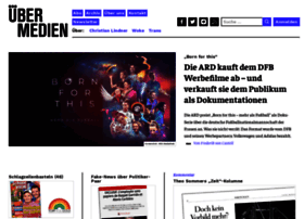 Uebermedien.de thumbnail