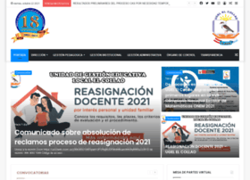 Ugelelcollao.edu.pe thumbnail