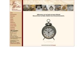 Uhrmacher-walker.de thumbnail