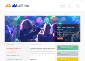 Uk-hallhire.co.uk thumbnail