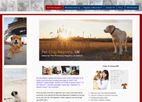 Uk-petchipregistry.info thumbnail