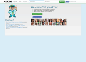 uk.worldsbiggestchat.com at WI. Lycos Chat | The Coolest ...