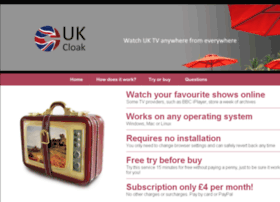 Ukcloak.co.uk thumbnail