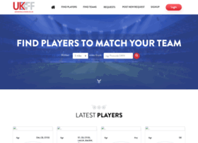Ukfootballfinder.co.uk thumbnail
