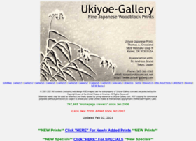 Ukiyoe-gallery.com thumbnail