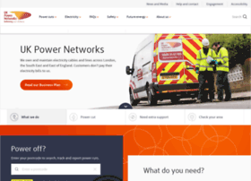 Ukpowernetworks.co.uk thumbnail