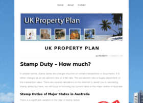 Ukpropertyplan.co.uk thumbnail