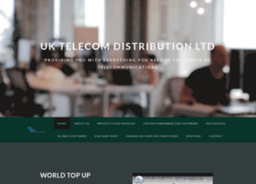 Uktelecomdistribution.co.uk thumbnail