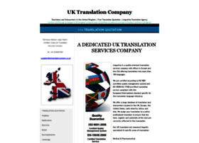 Uktranslationcompany.co.uk thumbnail