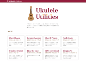 Ukulelechords.info thumbnail