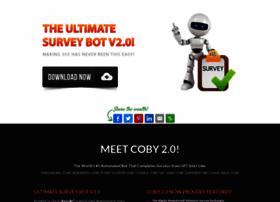 ultimatesurveybot com at WI  The Ultimate Survey Bot V2 0