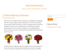 Ultravioletflowers.net thumbnail