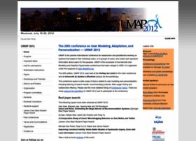 Umap2012.polymtl.ca thumbnail
