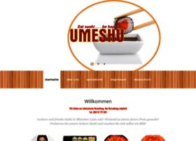 Umeshu-sushibar.de thumbnail