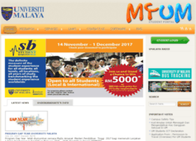 Umisisweb.um.edu.my thumbnail