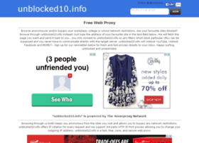 Unblocked10.info thumbnail
