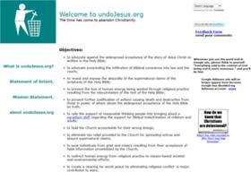 Undojesus.org thumbnail