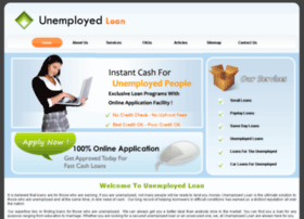 Unemployedloan.me.uk thumbnail