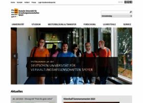 Uni-speyer.de thumbnail