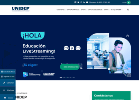 Unidep.edu.mx thumbnail