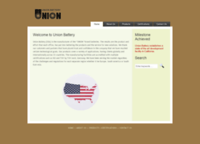 Unionbattery.net thumbnail